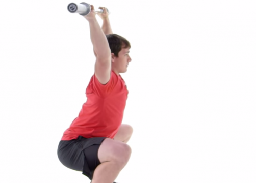 De Overhead Squat – CrossFit