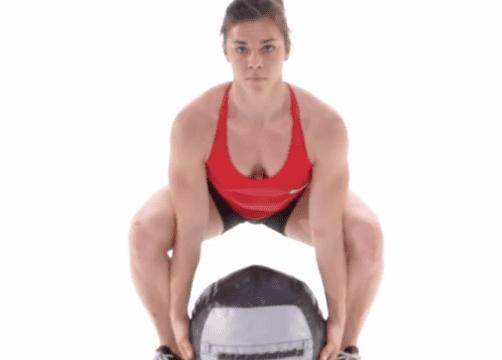 De Medicine Ball Clean – CrossFit