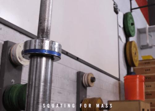 Squatten voor massa – CrossFit Barendrecht